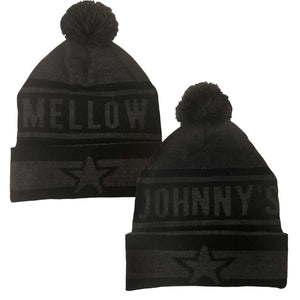 Mellow Johnny's Pom Beanie Coal