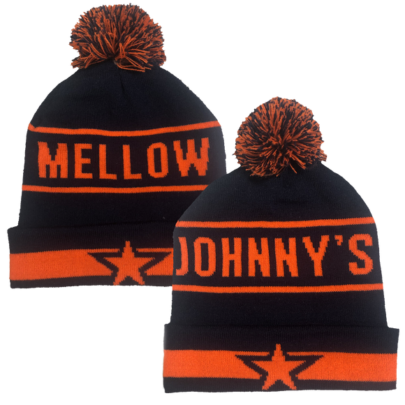 Mellow Johnny's Wildcat Pom Beanie