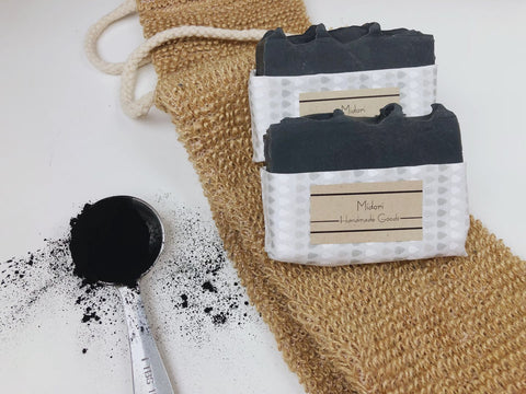 Tea Tree Activated Charcoal Soaps