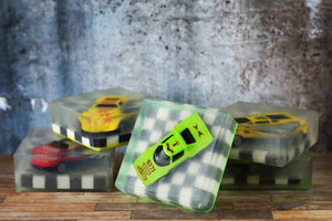 Toy Car Soaps