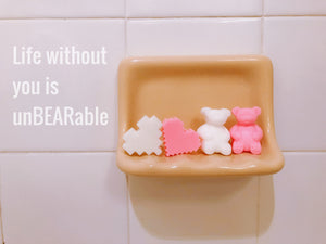 Gummy Bear Soaps - 2 pairs
