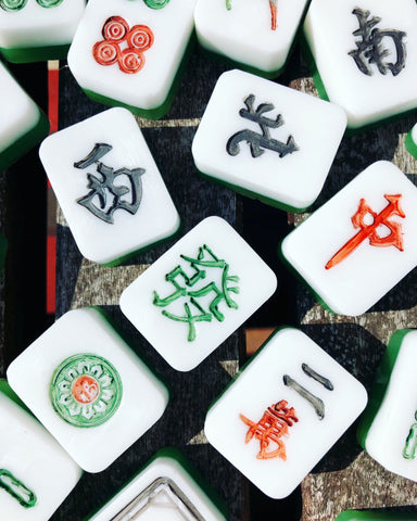 Mahjong Tile Guest Soap Gift Set
