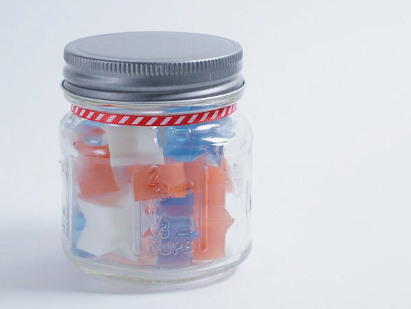 Red White and Blue Mini Soaps