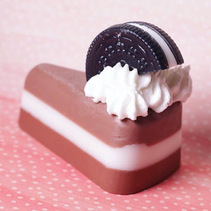 Oreo Sliced Cake Soap