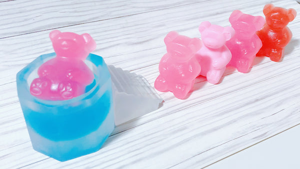 Gummy Bear Chilling In the Bath Soap