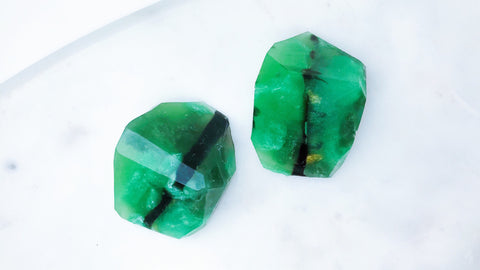Emerald Gemstone Soap