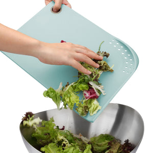 Cut & Drain Cutting Board