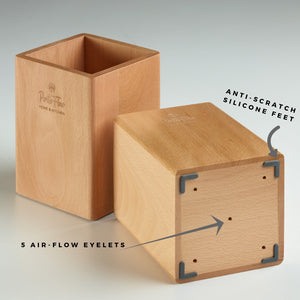Utensil Holder - Beech Wood