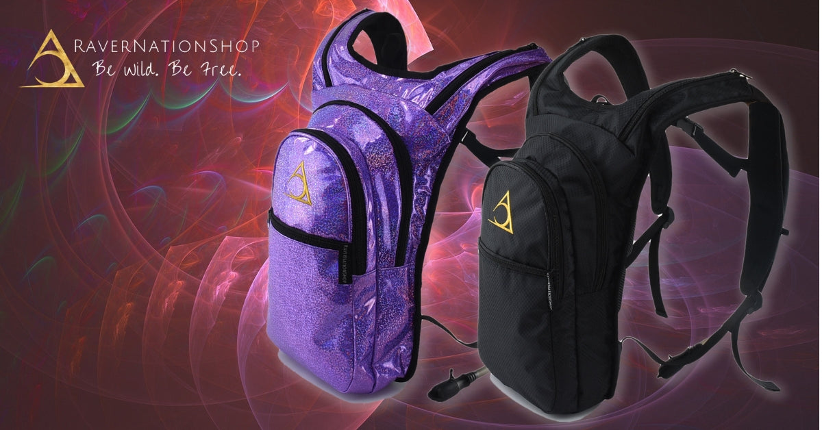 Rave Clothes, Rave Outfits - Hydration Packs - RaverNationShop