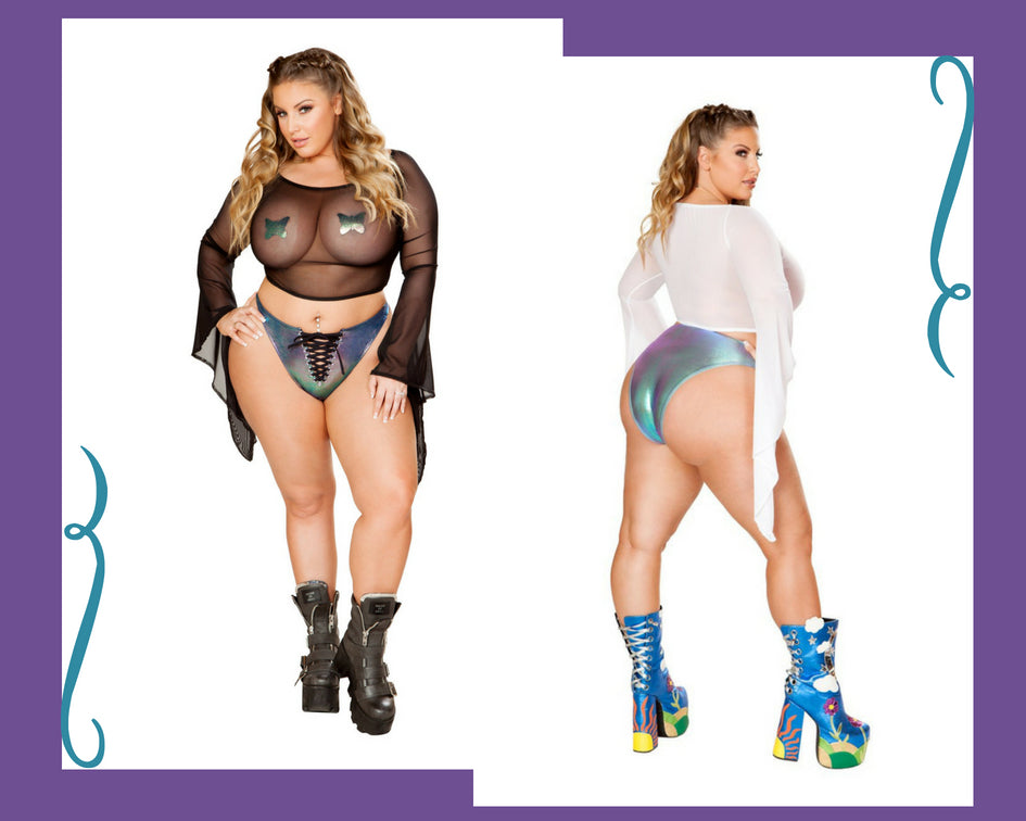 f728f23b694 Rave Clothing Spotlight - Plus Size Rave Outfits