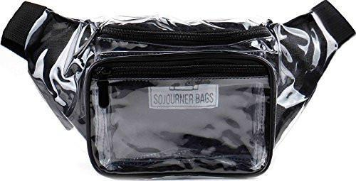 Fanny Pack Transparent - Clear Fanny Pack - SoJourner Bags