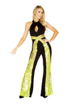 4883 - Roma Costume 1pc 70's Disco Hottie Hippie Retro