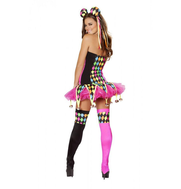 4514 3pc Lusty Laughter Costume - Roma Costume Costumes,2014 Costumes,New Products - 2