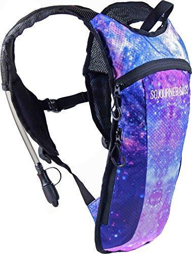 Fanny Pack Hydration Pack Backpack - 2L Water Bladder - Galaxy - SoJourner Bags