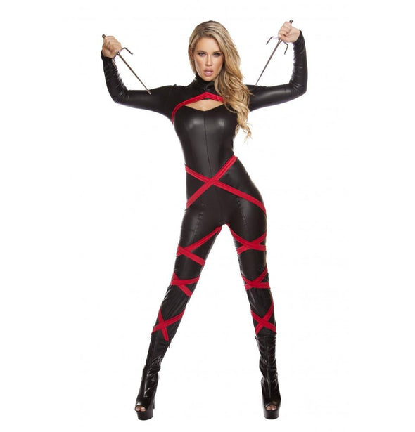 4605 1pc Naughty Ninja - Roma Costume Costumes,New Products,New Arrivals - 1