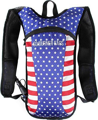 Fanny Pack Hydration Pack Backpack - 2L Water Bladder - USA - SoJourner Bags
