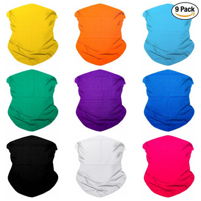 Fanny Pack 9PCS Solids Series 2 - Seamless Mask Bandana Headband - SoJourner Bags