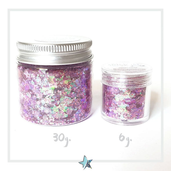 Ice Cream Chunky Glitter - Starlight