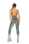 Stretch Sequin Catsuit