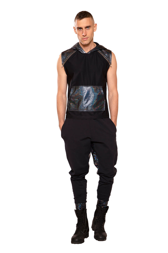 Hooded Sleeveless Shirt (Unisex)