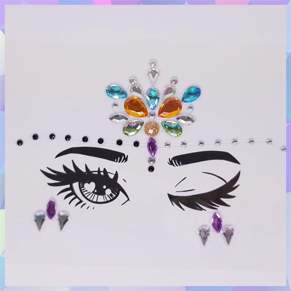 Face Jewels, Face Gems, Face Rhinestones - RaverNationShop