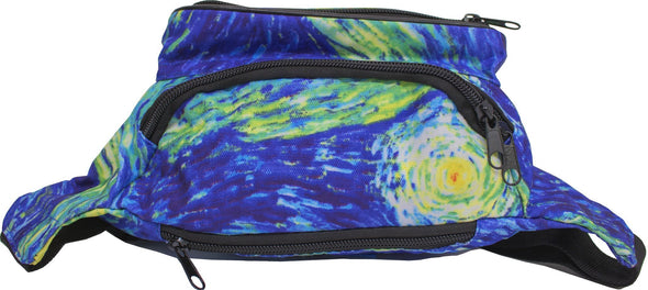 Fanny Pack SoJourner Bags Outer Space Galaxy Rave Festival Fanny Pack - SoJourner Bags