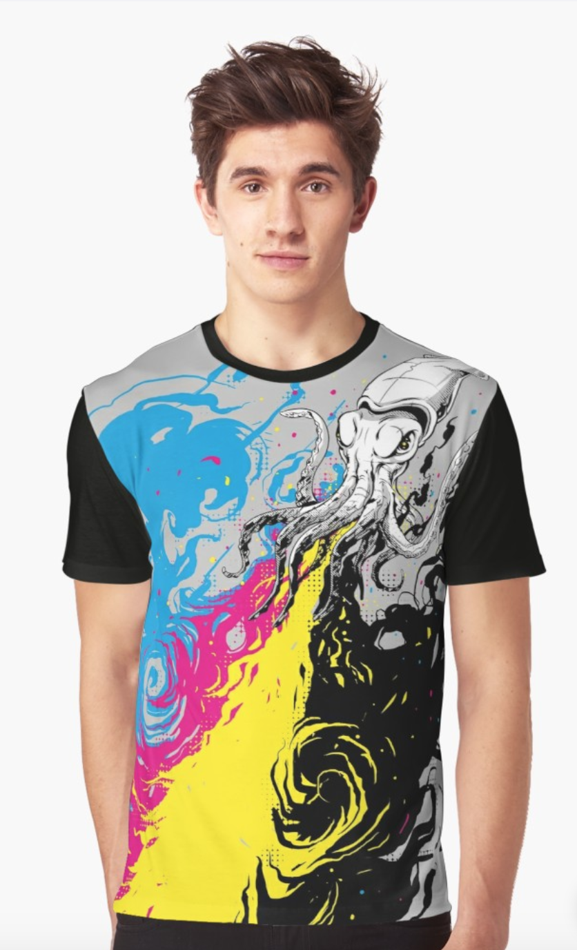6d6f3fcac0e2c5 Men s Rave Clothing - Escape (Graphic Tee) Rave T-Shirt