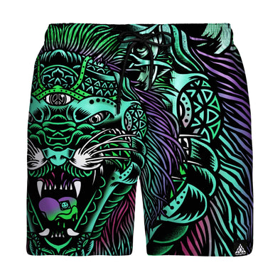 Acid Tiger Swim Trunks
