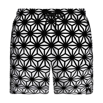 Asanoha Swim Trunks