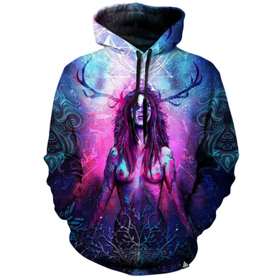 Blossoming Universe Hoodie