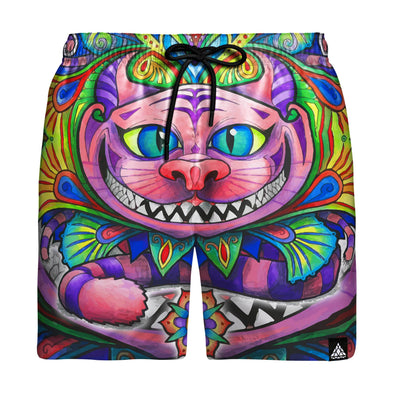 Cheshire Cat Swim Trunks