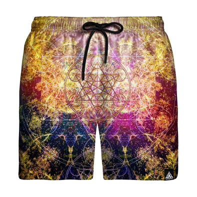 Pineal Metatron Swim Trunks