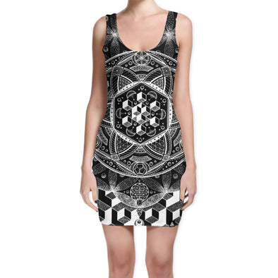 Set 4 Lyfe / Glenn Thomson - DREAMSTATE BODYCON DRESS - Clothing Brand - Bodycon Dress - SET4LYFE Apparel