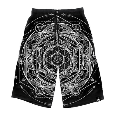 Esoteric Dark Long Shorts