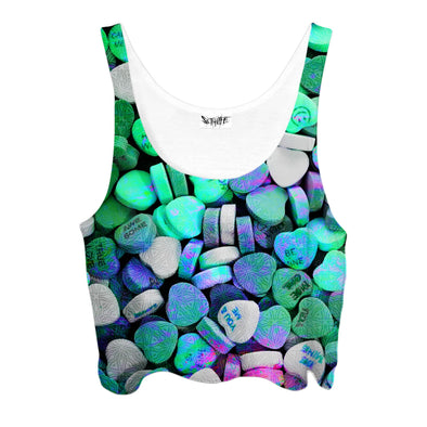 Set 4 Lyfe - LOVE DRUG CROPTOP - Clothing Brand - Croptop - SET4LYFE Apparel