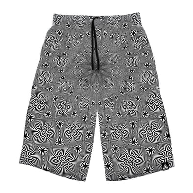 Optical Star Vortex Long Shorts