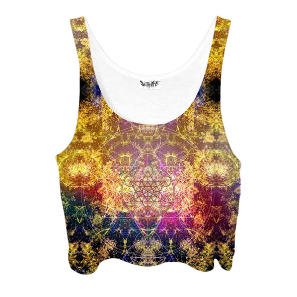 Set 4 Lyfe / DAQUALIA - PINEAL METATRON CROPTOP - Clothing Brand - Croptop - SET4LYFE Apparel