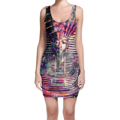 Set 4 Lyfe / Mattaio - SPACE PHARAOH BODYCON DRESS - Clothing Brand - Bodycon Dress - SET4LYFE Apparel