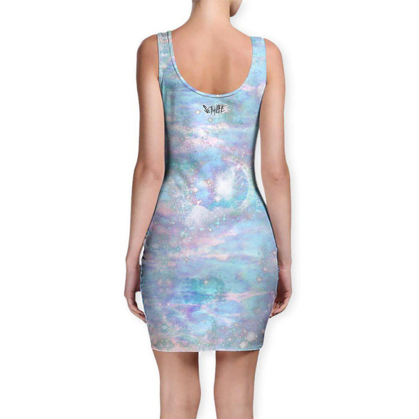 Set 4 Lyfe / Mattaio - FLUFFY SPACE MUNCHKIN BODYCON DRESS - Clothing Brand - Bodycon Dress - SET4LYFE Apparel