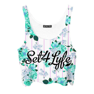Set 4 Lyfe / Mattaio - BLOOM CROPTOP - Clothing Brand - Croptop - SET4LYFE Apparel