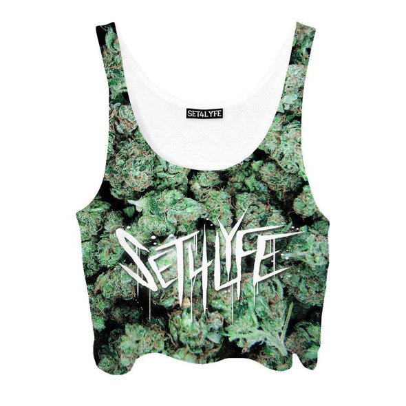 Set 4 Lyfe / Mattaio - BUDS CROPTOP - Clothing Brand - Croptop - SET4LYFE Apparel
