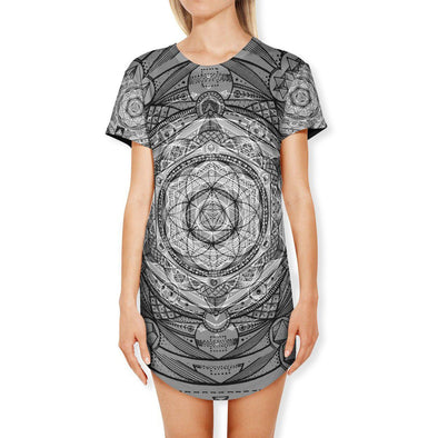 Set 4 Lyfe / Glenn Thomson - ESOTERIC DREAM T DRESS - Clothing Brand - T Dress - SET4LYFE Apparel