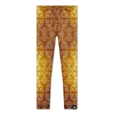 Set 4 Lyfe / Rooz Kashani - GOLDEN STAR SAYAGATA LEGGINGS - Clothing Brand - Leggings - SET4LYFE Apparel