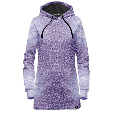 Lavender Starseed Portal Hoodie Dress