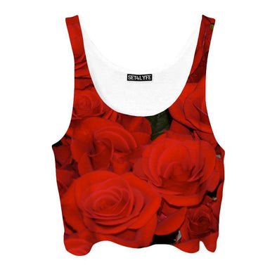 Set 4 Lyfe - ROSE CROPTOP - Clothing Brand - Croptop - SET4LYFE Apparel