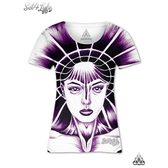 Set 4 Lyfe / Maria Joaquin - MOTHER COSMOSIS GIRLS T - Clothing Brand - Girls T - SET4LYFE Apparel