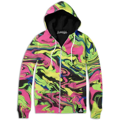 Set 4 Lyfe / JG Creationz - SHOOK ZIP UP HOODIE - Clothing Brand - Zip Up Hoodie - SET4LYFE Apparel
