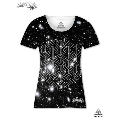 Set 4 Lyfe - BLACK-HOLE GIRLS T - Clothing Brand - Girls T - SET4LYFE Apparel