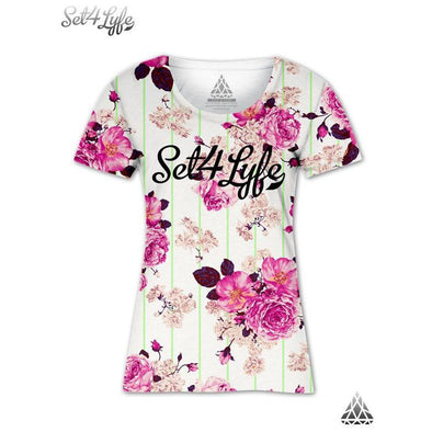 Set 4 Lyfe / Mattaio - BLOOM GIRLS T - Clothing Brand - Girls T - SET4LYFE Apparel
