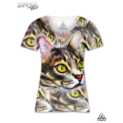 Set 4 Lyfe / Ciprian Calbeaza - BIG KITTY GIRLS T - Clothing Brand - Girls T - SET4LYFE Apparel